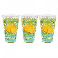 CERVE Pohár longdrink 3 ks, 310 ml, citrón