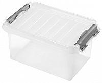 heidrun Plastový úložný box s vekom HEIDRUN Clip box 4l