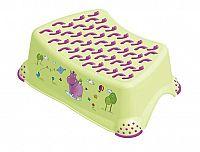 Keeeper Detská stolička Hippo s protišmykovým povrchom, zelená
