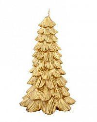 Provence Sviečka vianočný stromček, zlatá