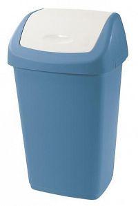 Tontarelli Plastový kôš na odpadky TONTARELLI Aurora 9l modrobiely