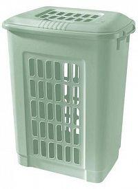 Tontarelli Plastový kôš na špinavú bielizeň TONTARELLI 60l svetlo zelený