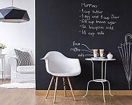 Popisovateľná tabuľová farba na stenu nielen do detskej izby
