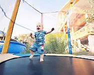 Najlepšia detská trampolína pre deti? Poradíme, ako vybrať