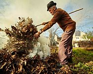 Pálenie odpadu v záhrade. Platí zákaz spaľovania odpadov?