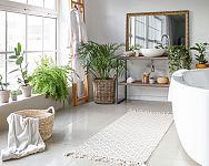 Aký koberec do kúpeľne – veľký protišmykový penový, plastový či kamenný koberec?