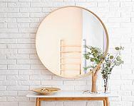 Tipy, kam umiestniť zrkadlo v kúpeľni, predsieni, obývačke, jedálni, spálni, kuchyni