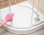 Ako vyčistiť sprchový kút (sklo a sprchovú vaničku) od vodného kameňa