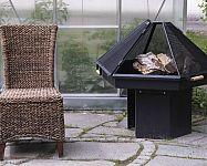 Prenosné kovové záhradné ohnisko s grilom i bez si môžete vyrobiť alebo kúpiť