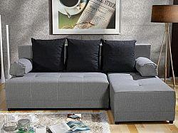 Rohová sedačka Mexx (sivá + čierna) (P)