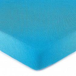 4Home jersey prestieradlo tmavo modrá, 180 x 200 cm