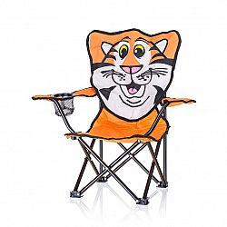 Happy Green Detské skladacie kreslo Tiger,