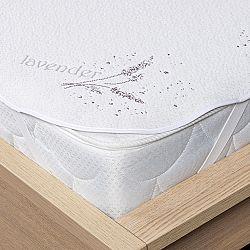 4Home Lavender Chránič matraca s gumou, 160 x 200 cm