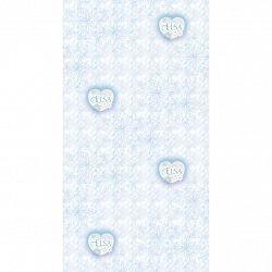 AG Art Detská fototapeta Elsa modrá, 53 x 1005 cm