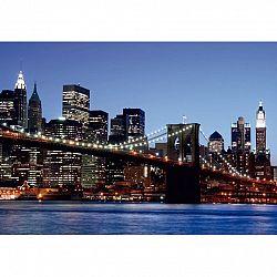 AG Art Fototapeta XXL Brooklynský most 360 x 270 cm, 4 diely