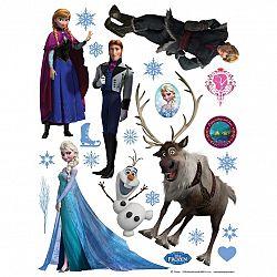 AG Art Samolepiaca dekorácia Ľadové kráľovstvo, 30 x 30 cm