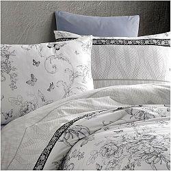 BedTex Bavlnené obliečky Alegra sivá, 220 x 200 cm, 2 ks 70 x 90 cm