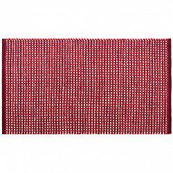BO-MA Trading Kusový bavlnený koberec Elsa červená, 60 x 110 cm