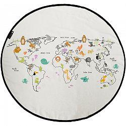 Butter Kings Detská hracia podložka Around the world, 130 cm