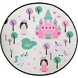 Butter Kings Detská hracia podložka Pink kingdom, 130 cm