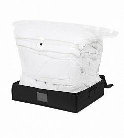 Compactor Black Edition vákuový úložný box s vystuženým puzdrom - L 145 litrov, 50 x 65 x 15,5 cm