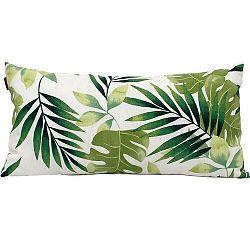 Domarex Obliečka na vankúšik Green Leaves, 30 x 50 cm
