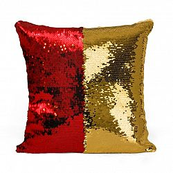Domarex Obliečka na vankúšik s filtrami Flippy červená, 40 x 40 cm