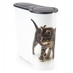 Dóza na krmivo pre mačky Mačiatko, 4 l, plast