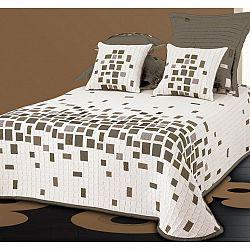 Forbyt Prehoz na posteľ Derby béžová, 240 x 260 cm