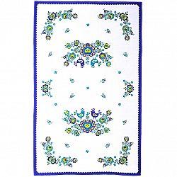 FORBYT Utierka Folklór modrá, 45 x 70 cm