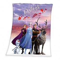 Herding Detská deka Frozen 2 My destiny's calling, 130 x 160 cm