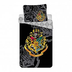 Jerry Fabrics Bavlnené obliečky Harry Potter, 140 x 200 cm, 70 x 90 cm