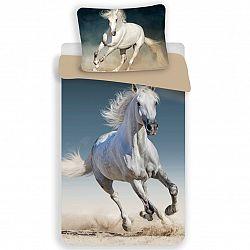 Jerry Fabrics Bavlnené obliečky Horse 03, 140 x 200 cm, 70 x 90 cm