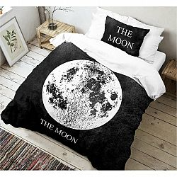 Kvalitex Bavlnené obliečky Moon 3D, 140 x 200 cm, 70 x 90 cm