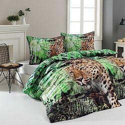Matějovský Bavlnené obliečky Deluxe Leopard, 140 x 200 cm, 70 x 90 cm