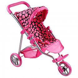 PlayTo Športový kočík pre bábiky Olívia Ružová