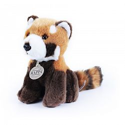 Rappa Plyšová panda červená, 18 cm
