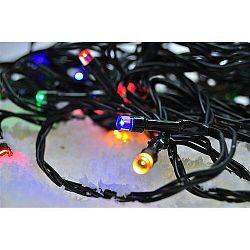 Solight Vianočná reťaz 200 LED farebná, 20 m