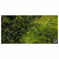 Towee rýchloschnúca osuška RICE FIELDS, 80 x 160 cm