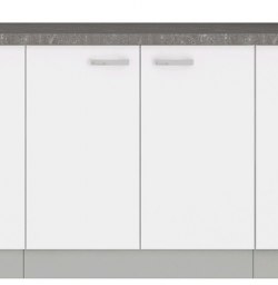 Dolná kuchynská skrinka Bianka 80D, 80 cm