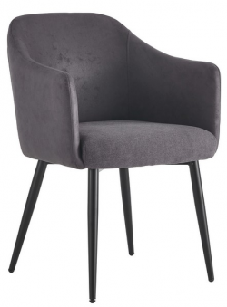 Jedálenská stolička Colon, tmavo šedá vintage