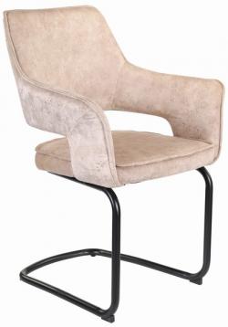Jedálenská stolička Hudson, béžová látka