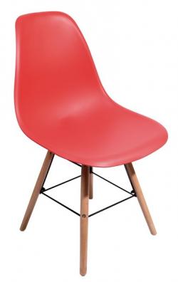 Jedálenská stolička Lyon, červená