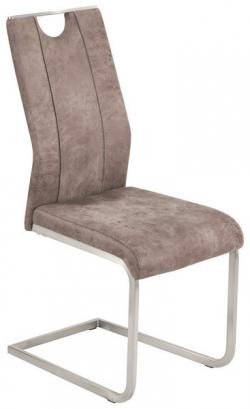Jedálenská stolička Trieste, vintage optika kože
