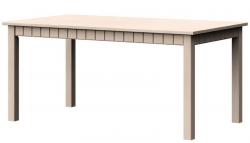 Jedálenský stôl Atik JS 160x90 cm, vanilka patina