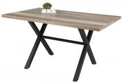 Jedálenský stôl Bonny 140x90 cm, dub divoký