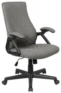 Kancelárska stolička Lineus, šedá tkanina