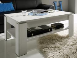 Konferenčný stolík Universal 112-56, bielená pínia
