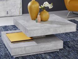 Konferenčný stolík Universal 119, šedý beton