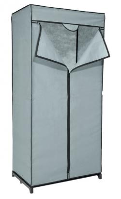 Látková skriňa Revow 8052, šedá